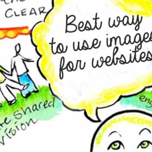 Best way to use images for websites