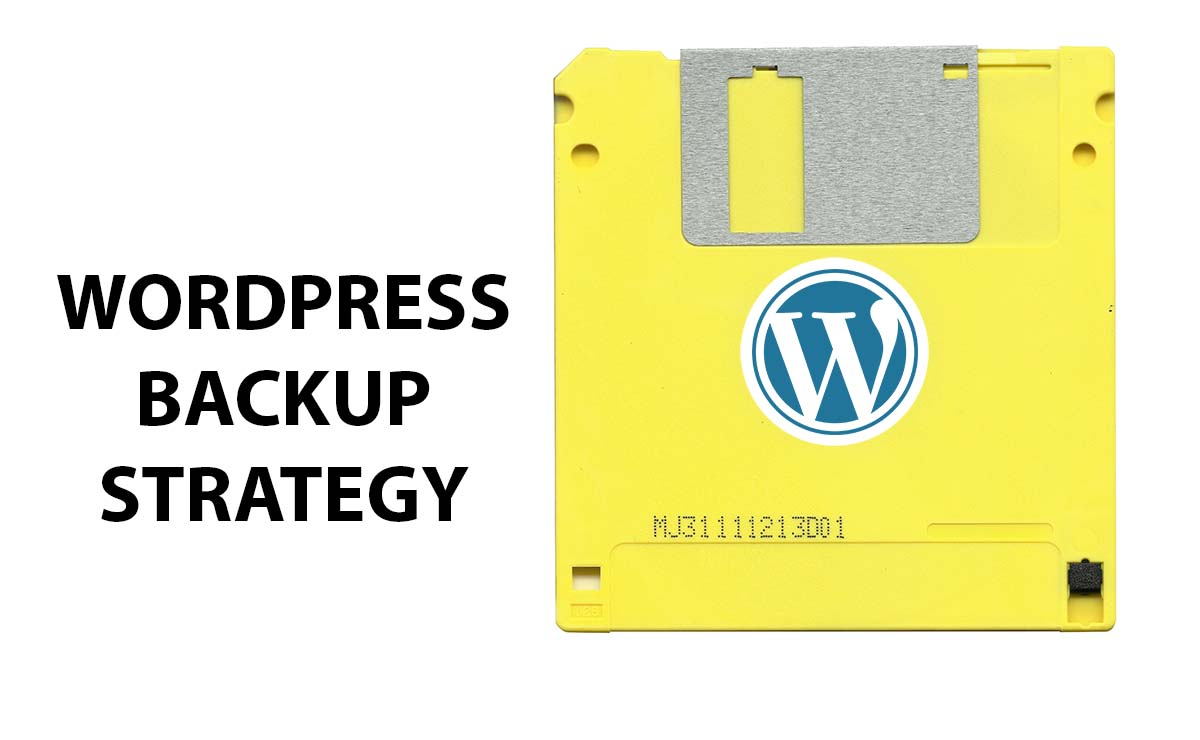 WordPress backup strategy