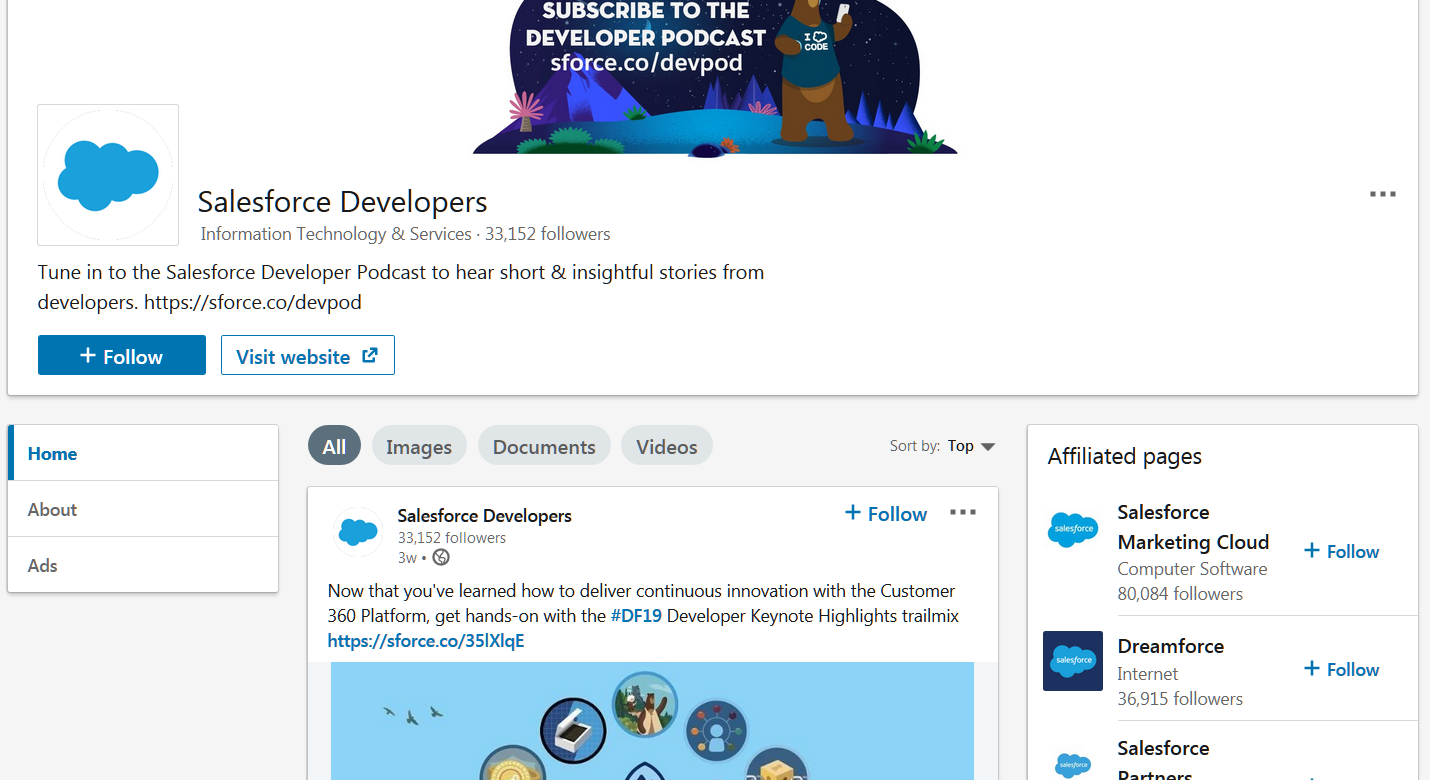 linkedin marketing tips you should know about: salesforce developers